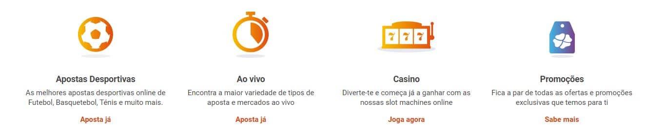 Produtos Luckia Portugal