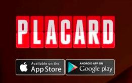 app placard
