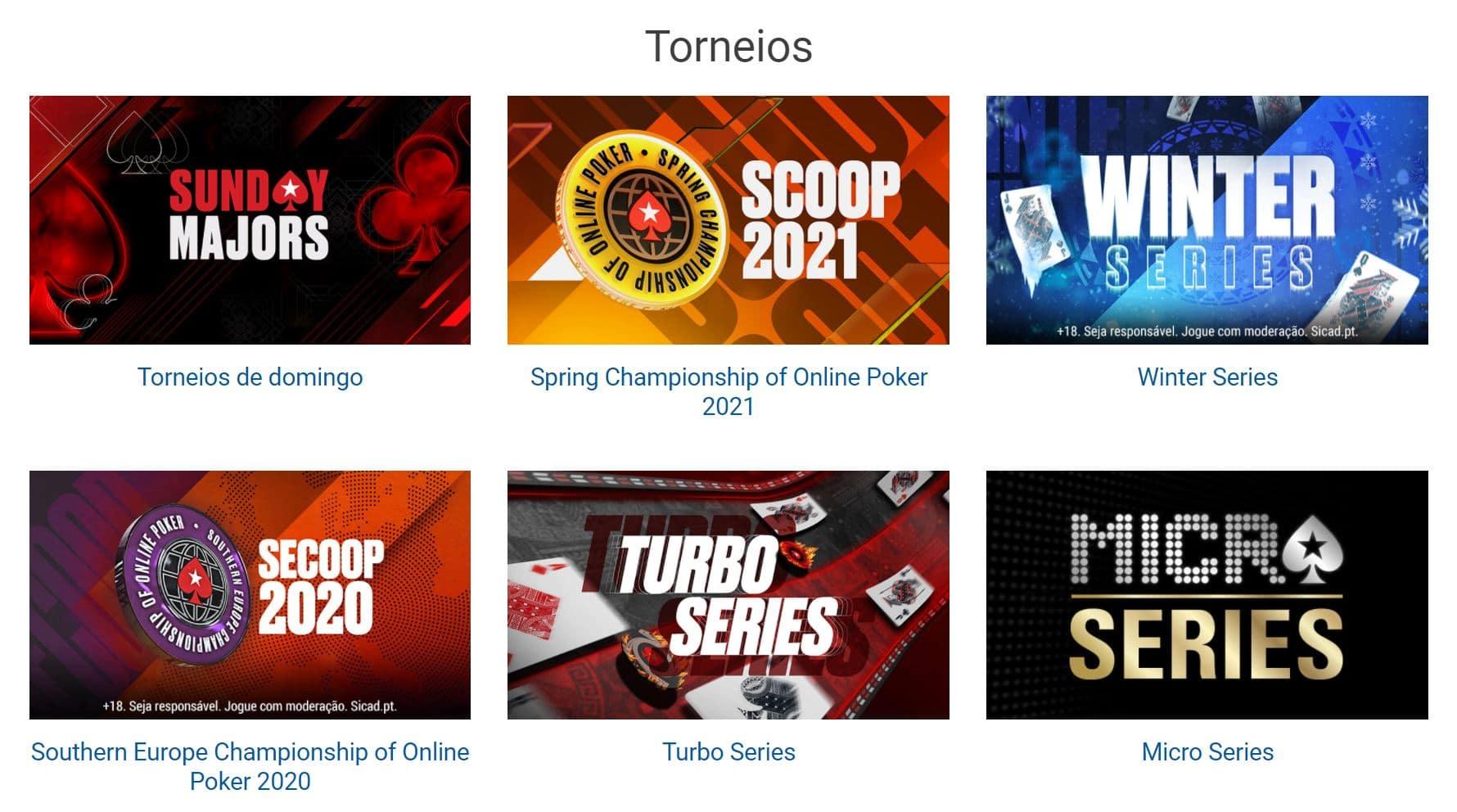 Codigo Bonus Pokerstars: Jogos disponíveis no site