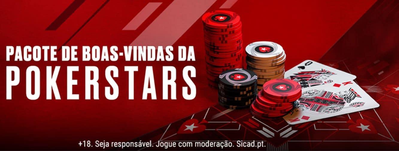 Codigo Bonus Pokerstars: Bônus de boas-vindas